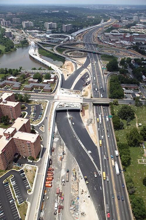 Woodrow Wilson Bridge - Construction